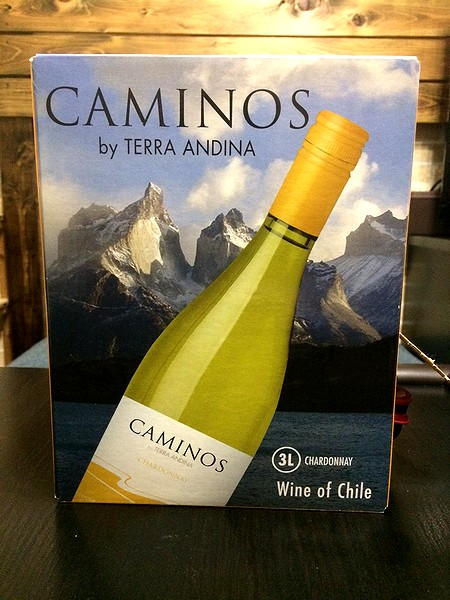 チリ産白ワイン