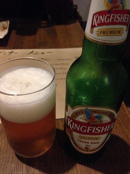 インドビールのキングフィッシャー
