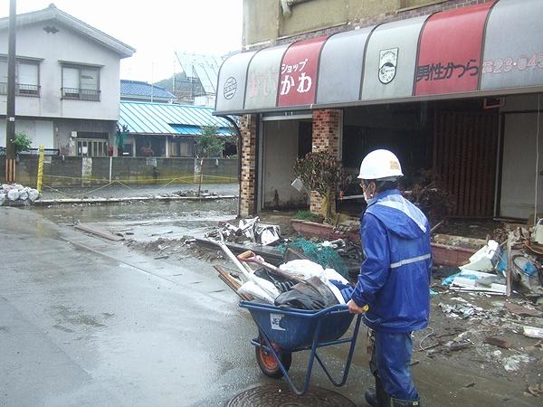 震災ボランティア石巻