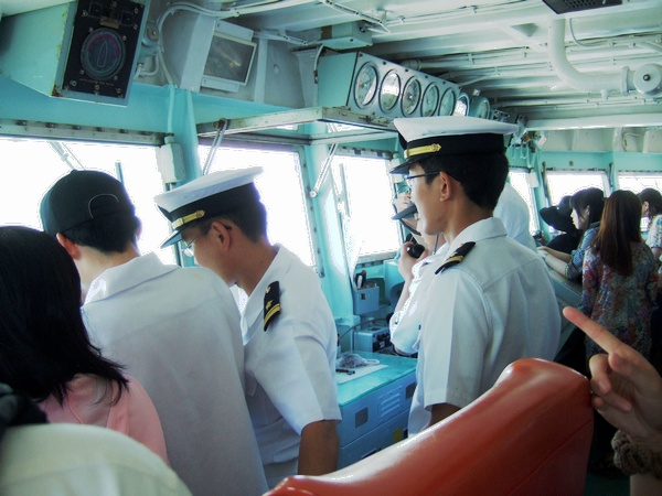 護衛艦あさゆき 体験乗船
