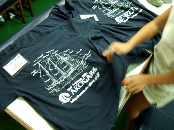 帆船あこがれTシャツ