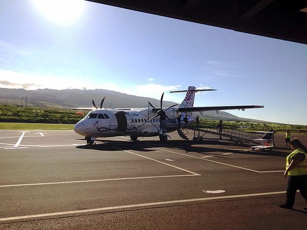 オハナ ハワイアン プロペラ機