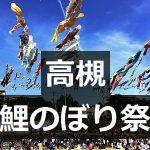 高槻鯉のぼりフェスタ 芥川桜堤公園