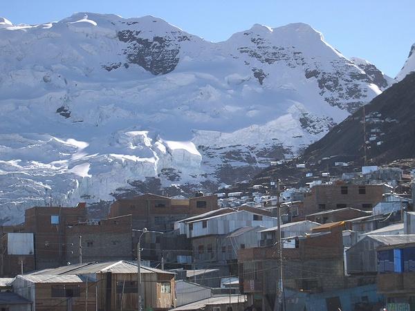 ラ・リンコナダ ペルー 高山都市