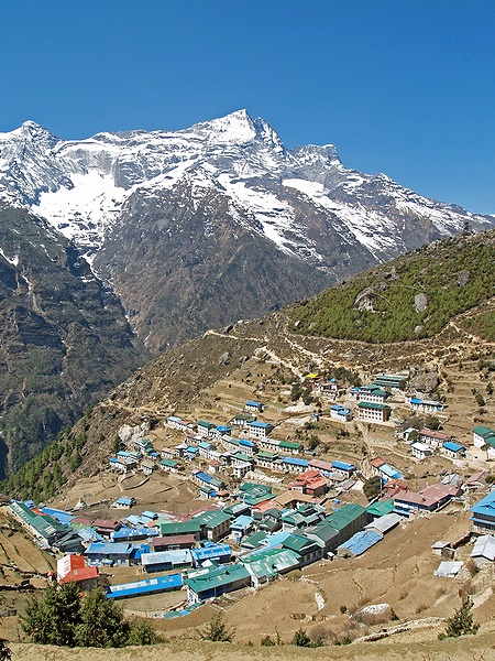 elevation_Namche-Bazaar