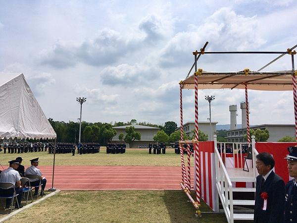 航空自衛隊奈良基地祭 観閲式訓練展示