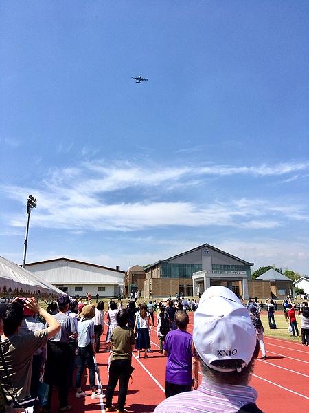 奈良基地 飛行展示